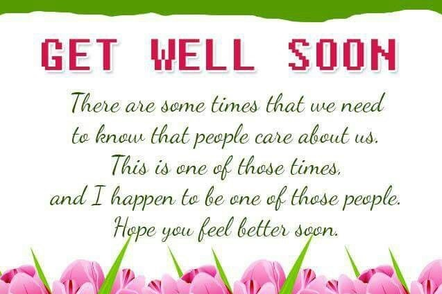 Get Well Soon for Her