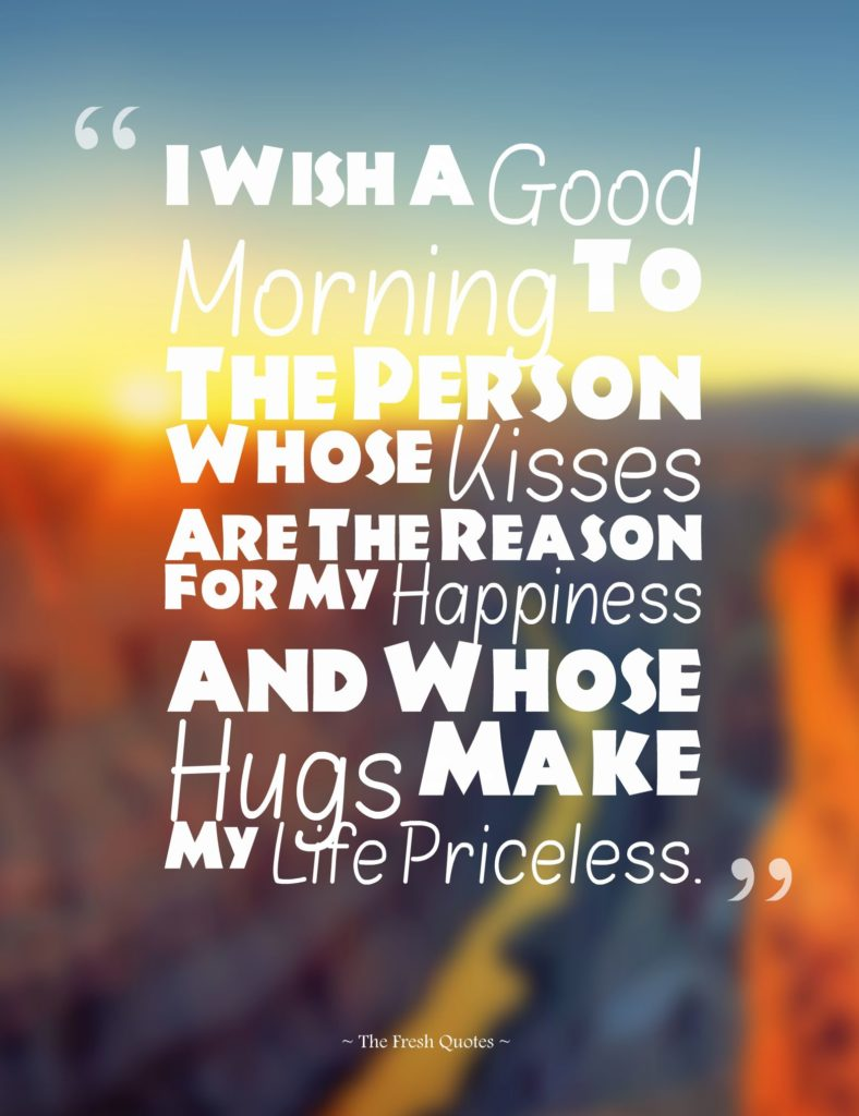 Sweet & Romantic Good Morning Messages & Quotes to My Love ...