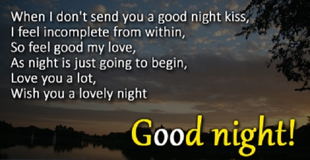 Top Good Night Quotes, Text For Sweet Sleep Ever (2019 ...