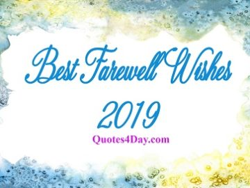 Best Farewell Wishes