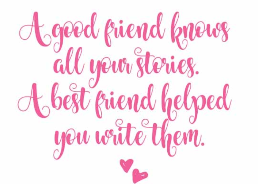 Best friends Quotes of the Year