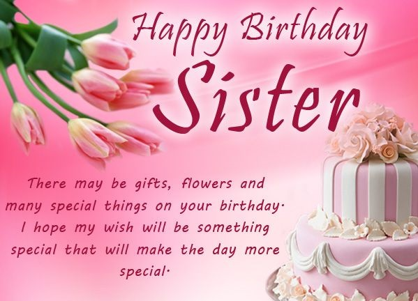 Happy Birthday Quotes for Sister Messages | Wishes | Quotes4Day