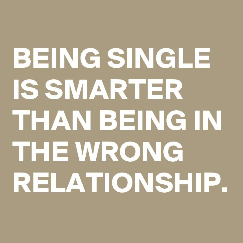 Best quotes for single