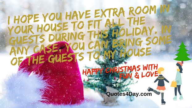Funny Christmas text messages quotes