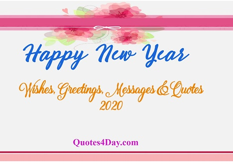 Happy New Year Wishes for Friends and Family - A Blessed New Year Quotes