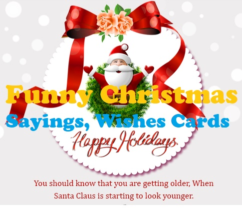 Best Funny Christmas Wishes Quotes Cards